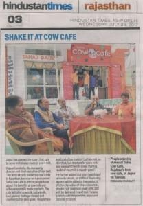 HT article on Sahaj Cafe